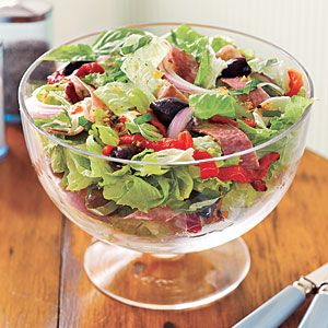 Italian chopped salad: Chopped Salads, Dinner, Myrecipes Com, Healthy Salad, Food, Chopped Salad Recipes, Italian Chopped, Recipes Salad