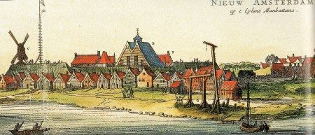 Another view of New York after it became a British royal colony.