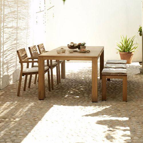 Kos table en teck Tribù http://www.voltex.fr/kos-table-en-teck-tribu-pid2456.htm