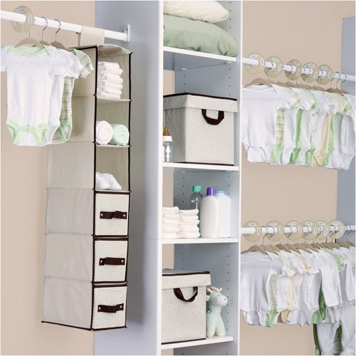 Nursery Storage Set, Beige