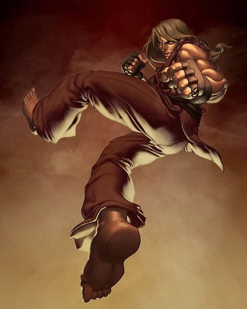 Street Fighter: Ken Masters by Mark Taduran / Markovah