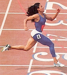 FloJo was one of my heroines when I was a child! I still remember watching her sprints live in the 1988 Olympics in Seoul!