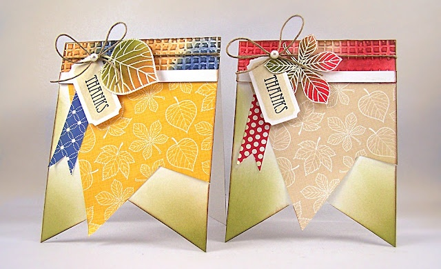 Inspired by...Cards Girls, Banners Shape, Pennies Black, Cards Ideas, Banners Cards, Black Blog, Fall Cards, Papercraft Cards, Tags Cards