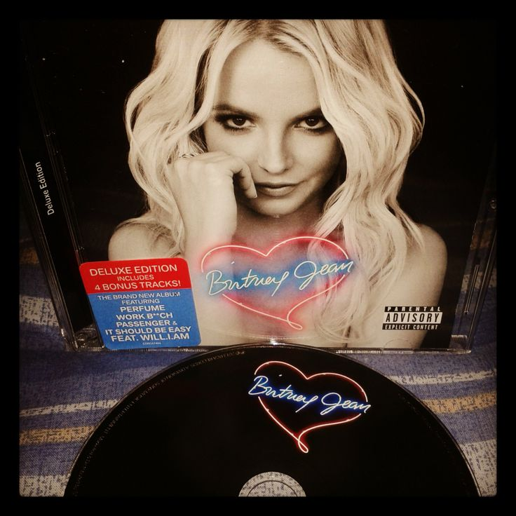 Britney Spears' new album: Britney Jean. Totally love this album of this great artist!
