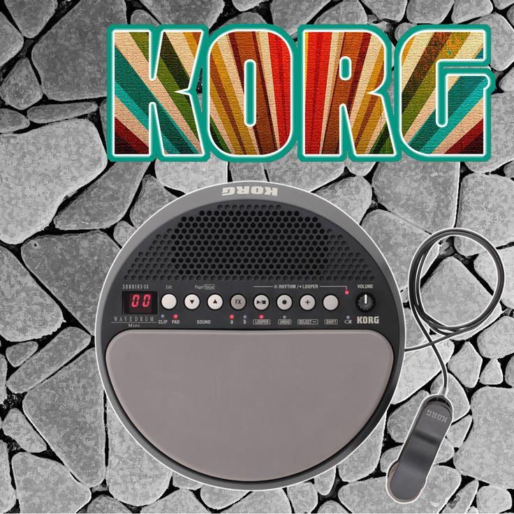 Korg WaveDrum Mini Percussion Synthesizer Pad --- Mini E Drum/Synth Pad! #Korg #Percussion #DrumPad #AmericanMusical #AmericanMusicalSupply