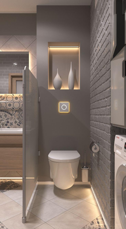 Les 25 meilleures id es de la cat gorie deco wc sur pinterest id e deco wc d co toilettes et - Duchas pequenas ...