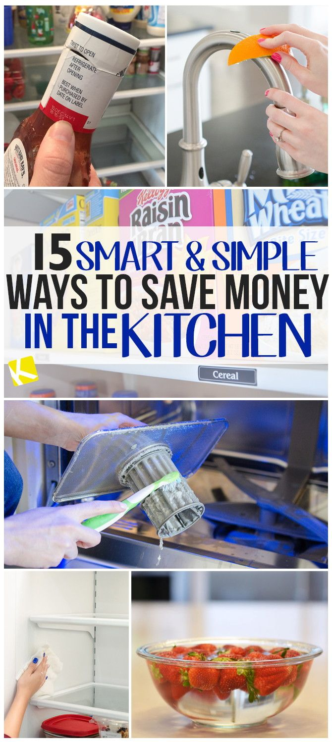 15 Easy Things You Should Be Doing to Save Big in the Kitchen