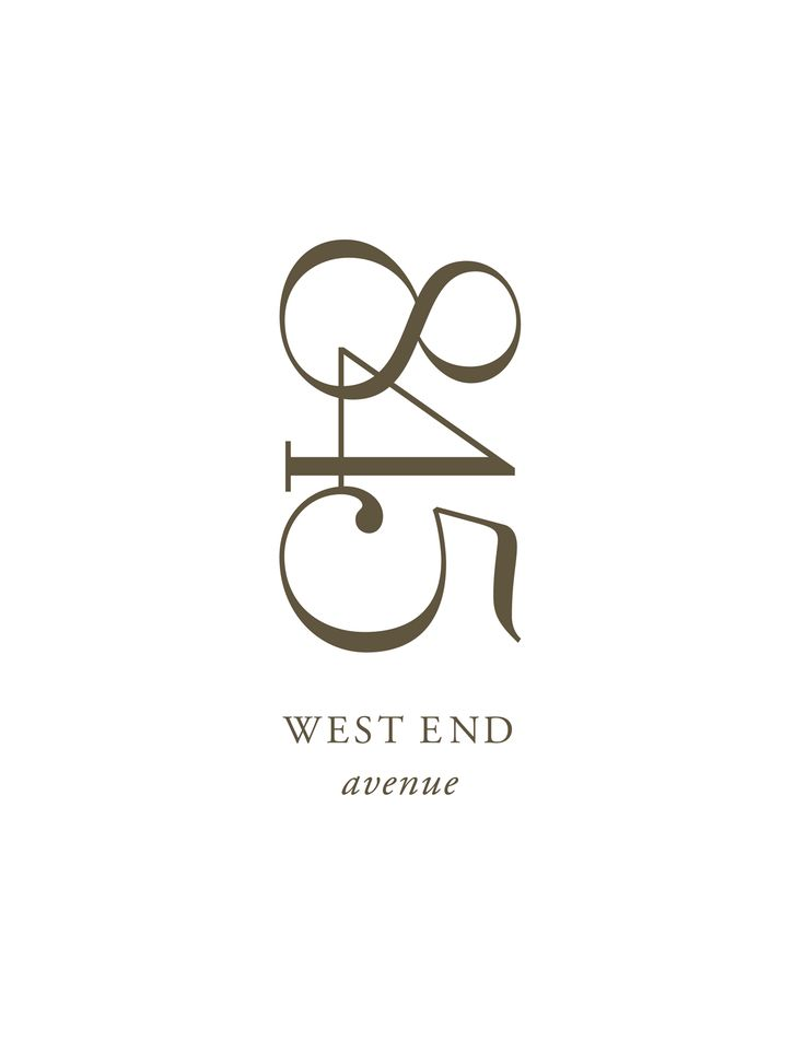 845 West End Avenue - Logo /