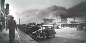 My grandmother told stories about the Dust Bowl. Awful.  It lasted 10 years.