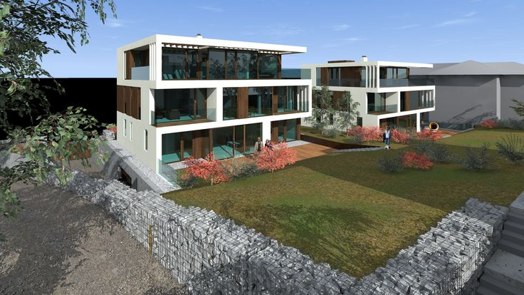 Madárhegy - Facsemete  designed by 4D Architects minimal modern architecture residential