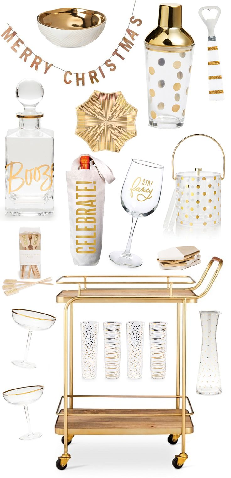 17 Best ideas about Gold Bar Cart on Pinterest | Bar cart, Cute ...