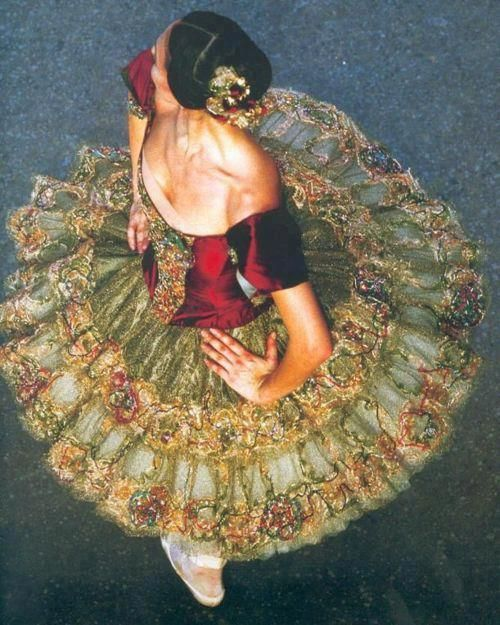 Ballerina in costume for Paquita - Paris Opera Ballet