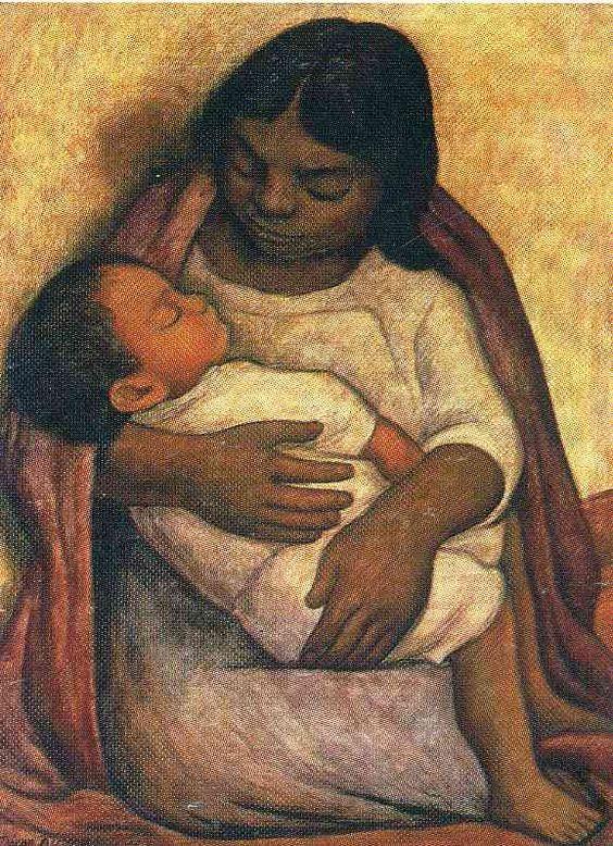 "Diego Rivera, ""La Era"" (The Threshing Floor) 1904"