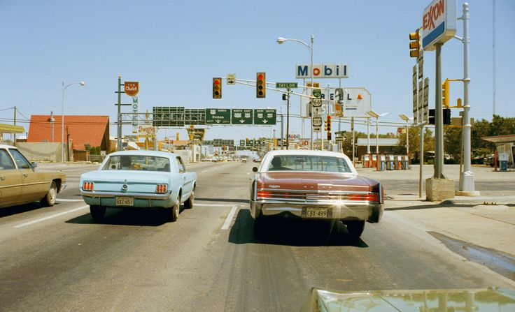 Stephen Shore: Actually, I started to use color a year before, in 1971, with two projects: the Mick-O-Matics, which were color snapshots, and the Amarillo postcards. I think it was simply the time was right for color photography.