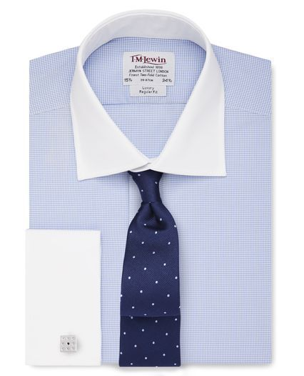 #shirts  29% OFF. http://bucksme.com/share/3891  The traditional Jermyn Street shirt fit, our regular fit shirts are generously cut across the chest, body and arms with a longer tail that stays tucked in. Perfect if you like a loose-fit shirt with ample room for movement.