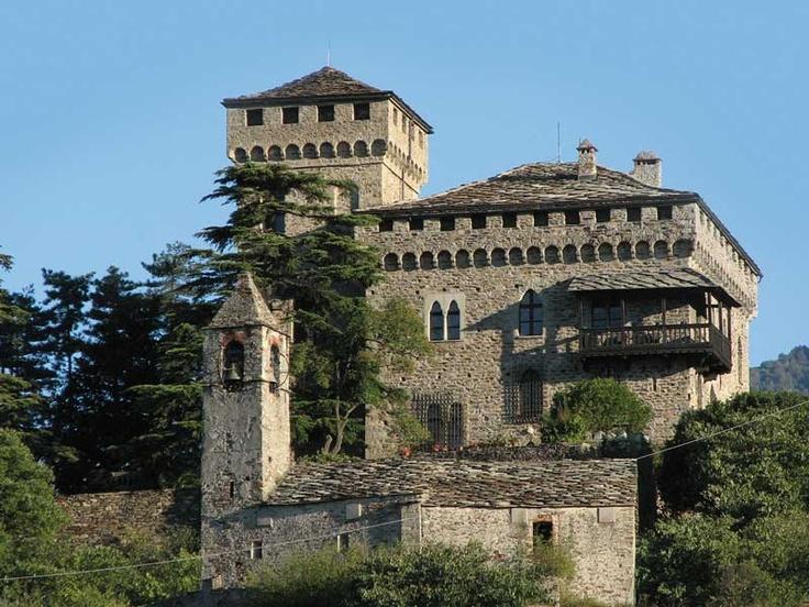 Castello di Montestrutto, Piemonte, Italia