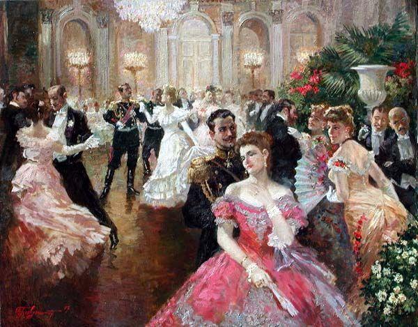 First Waltz by Vladimir Pervuninsky