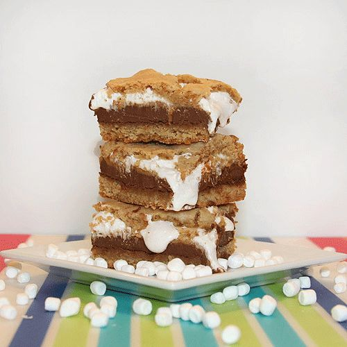 Peanut Butter S'mores Bars | Stuff to make! | Pinterest