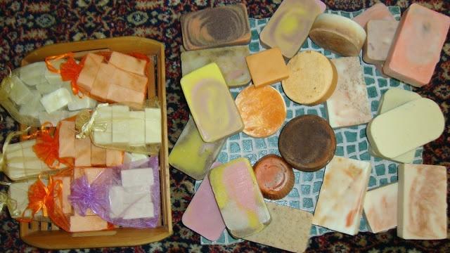 ιδεες σαπουνιων..χρωματα, ποσοστα