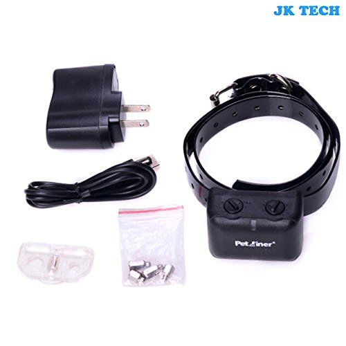 JK TECH Safety Dog Collar Rechargeable and Waterproof Anti Bark Collar with Static and Vibration for Small Medium Large Dogs *** See this great product by click affiliate link Amazon.com