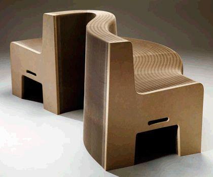 17 meilleures id es propos de fauteuil en carton sur pinterest carton design art en carton. Black Bedroom Furniture Sets. Home Design Ideas