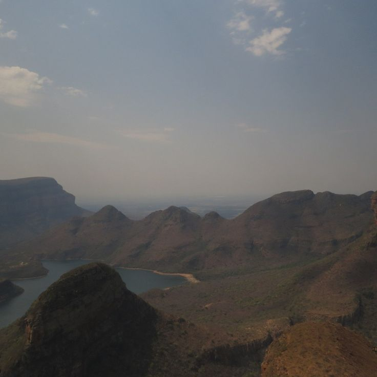 The Blyde River Canyon - 3td largest canyon in the world and the largest Green canyon in the world.
