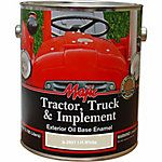 Majic Tractor, Truck & Implement Oil Base Enamel, I.H. White, 1 gal.  Grey, Ford, international, holland, barn red, etc