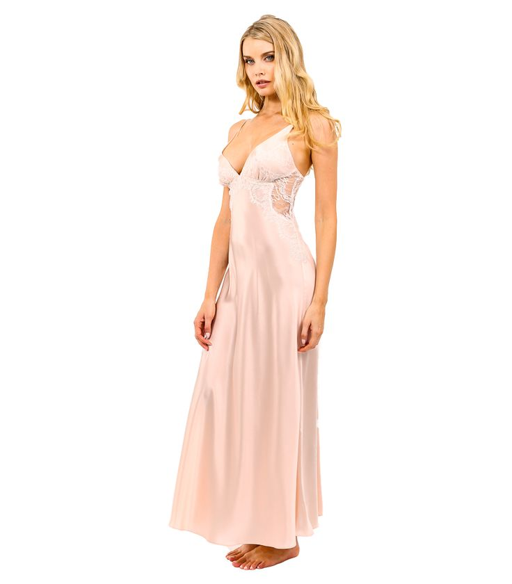 17 best images about silk gowns by christine lingerie on for Lingerie for wedding dress