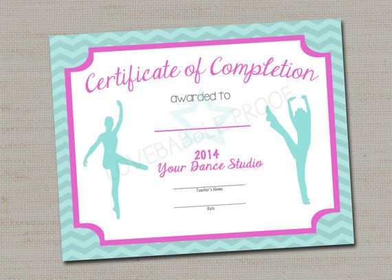 12 best information technology certificate of achievement images dance certificate gymnastics certificate printable by lovebabble 1000 yadclub Choice Image