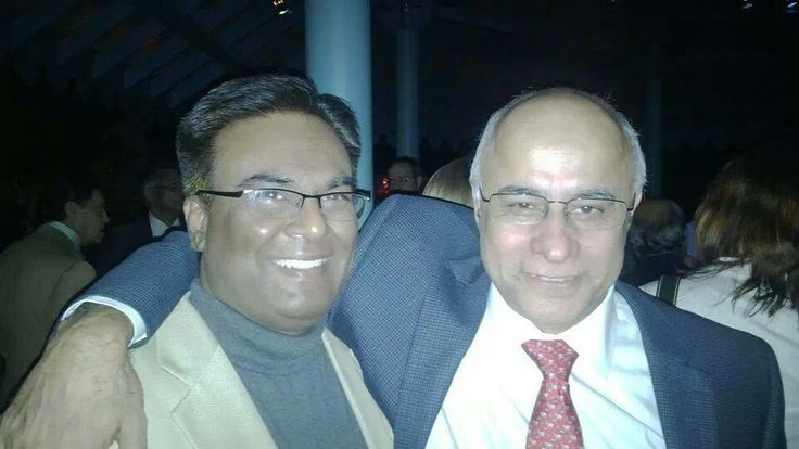 IDOS FOUNDER SRIKANTH WITH SUBROTO BAGCHI, FOUNDER & CHAIRMAN OF MINDTREE.