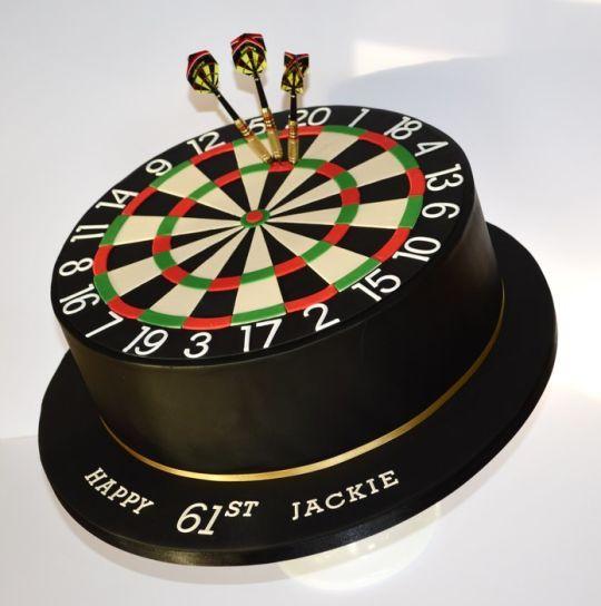 180 Dart Board Cake