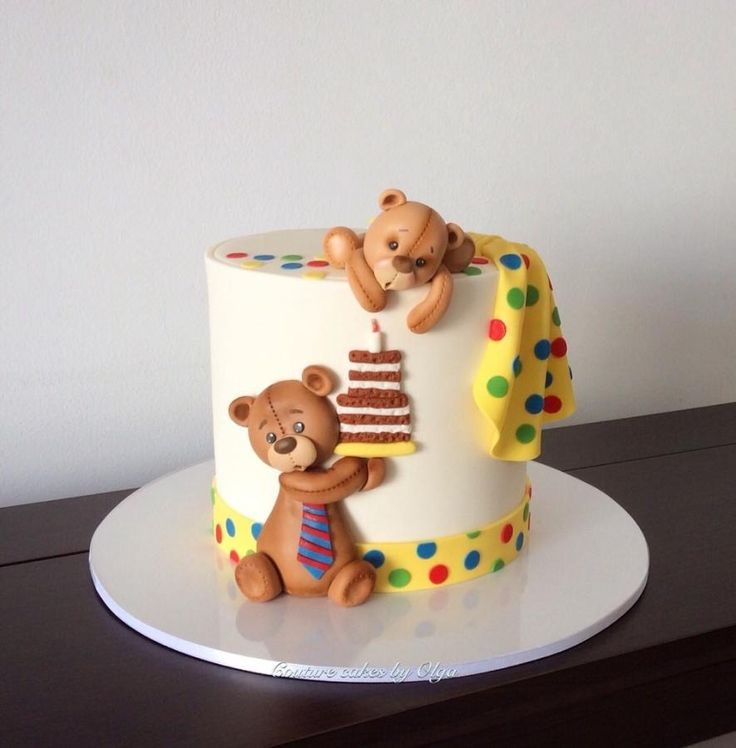 Teddies cake by Couture cakes by Olga