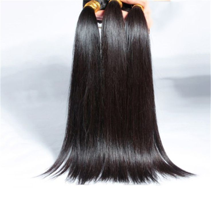 37 best natural black straight hair extensions images on pinterest grace hair products silky straight hair 4 bundles unprocessed virgin peruvian hair 100 human hair sew in extensions mixed pmusecretfo Image collections
