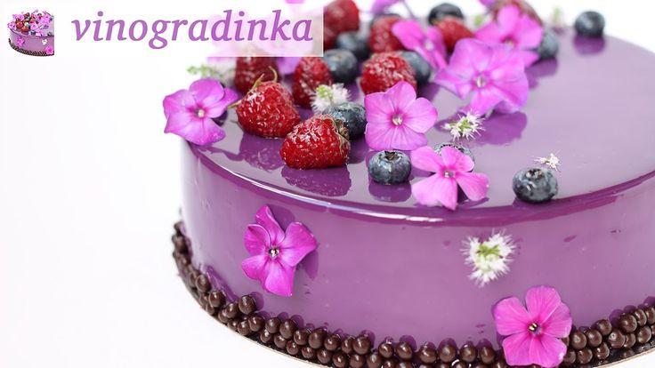 Как сделать муссовый торт | Как собирать муссовый торт | Vinogradinka