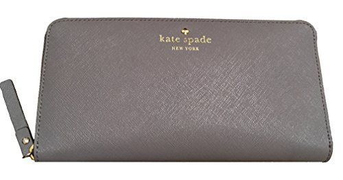 Kate Spade Mikas Pond Lacey Wallet (Cliff Grey) Kate Spad…