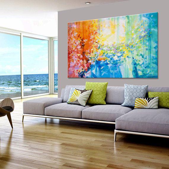 Oltre 25 idee originali per pittura astratta su pinterest for Quadri pittura astratta