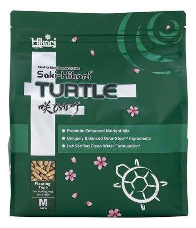 Hikari Food Saki-Hikari Turtle Diet Probiotics Odor Stop Digestible Meal 20oz