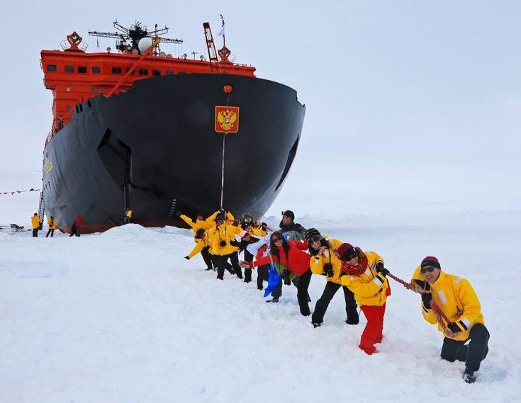 Tours to the North pole on the icebreaker (Туры на Северный полюс)