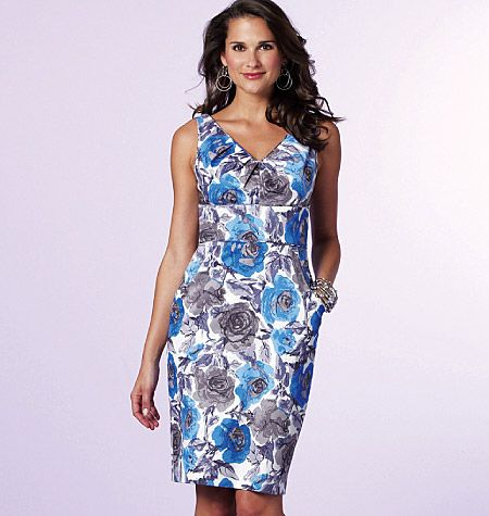 Dress Pattern Option 1 for In-Law's Wedding...