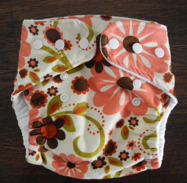 This lady is good! & love her fabric choice, How to Sew your Own Cloth Diapers   Free Pattern