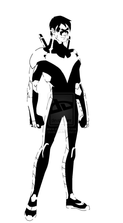Nightwing Stencil By Shedinblud.deviantart.com On ...