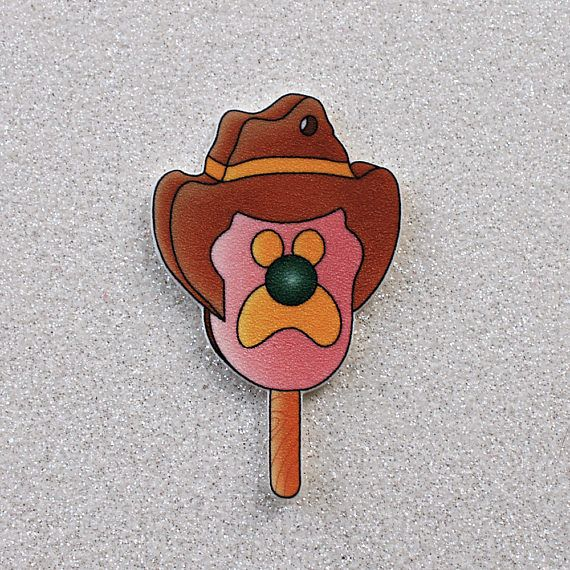 Bubble O' Bill ice cream brooch or magnet