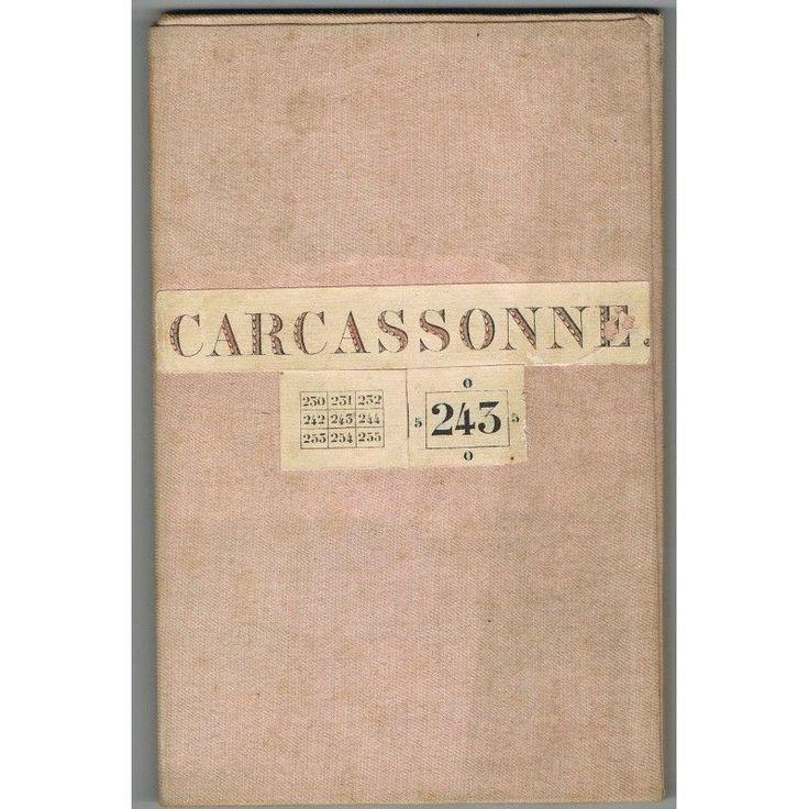 CARTE État Major CARCASSONNE N°243 OLONZAC CASTELNAUDARY JONQUIÈRES LOUPIA 1864 | eBay