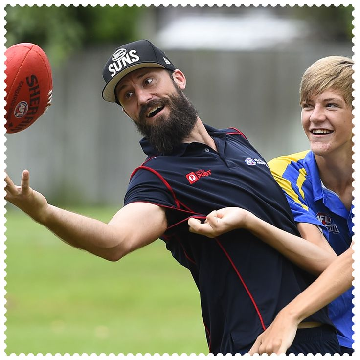 This week Jordan Baldock won a private training session with Australia Post AFL Multicultural Ambassador and Gold Coast SUNS player, Nick Malceski, in Townsville, 4810. #AustraliaConnected, #Australia, #Queensland, #Townsville, #AFL, #CommunityCamp, #GCSUNS, #postcode4810.