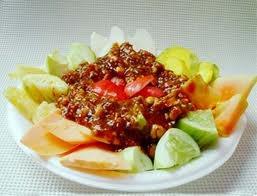 Rujak - indonesian fruit salad
