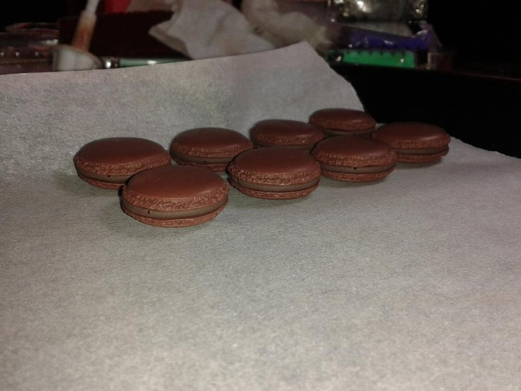 Macarones in fimo.