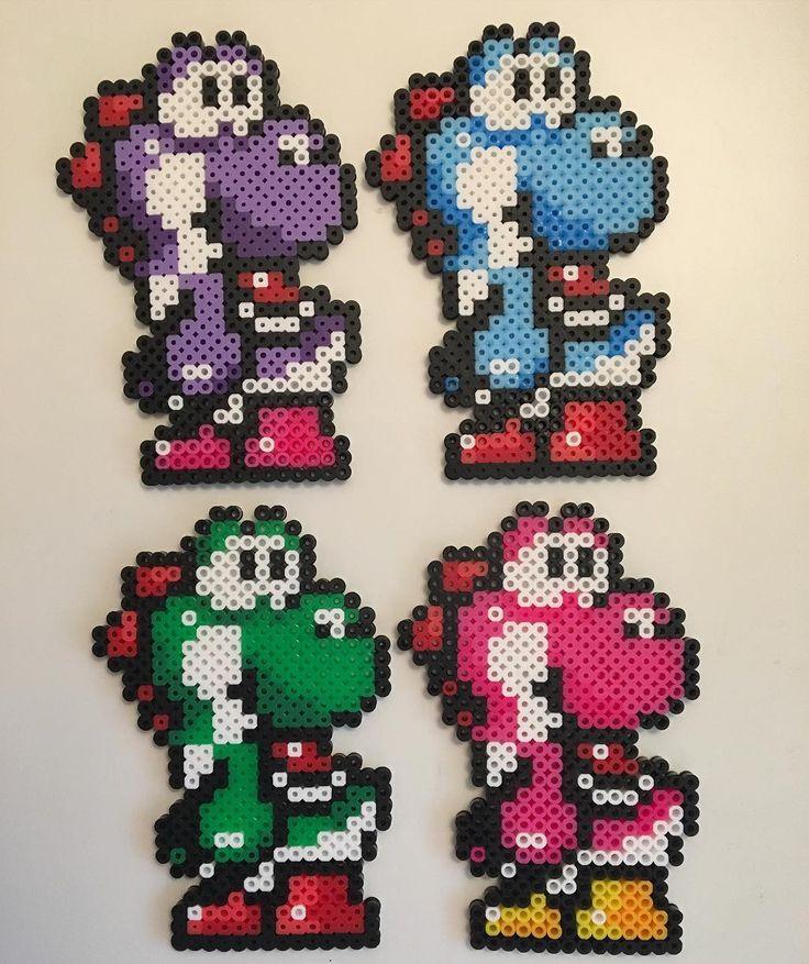 Yoshi perler beads by krprent