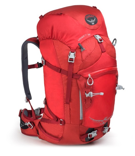 Osprey Variant 52 Backpack... makes lugging your stuff up a wall easy.