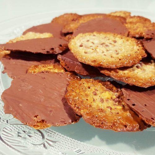 Moscovitas de Rialto en Oviedo. Receta de galletas de almendras y chocolate fáciles, rápida y riquísimas. Los que no las conocéis, tenéis que hacerlas ya.