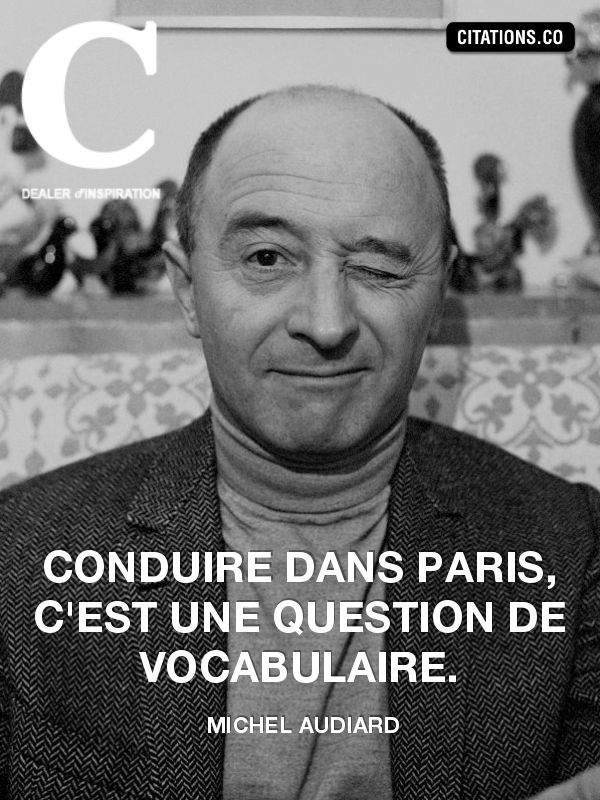 Pierre Michel Audiard (French: [miʃɛl odjaʁ]; 15 May 1920 – 27 July 1985) was a French screenwriter and film director. He was the father of French film director Jacques Audiard.